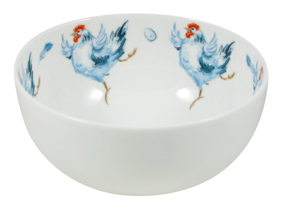 JA Dancing Hen Small bowl