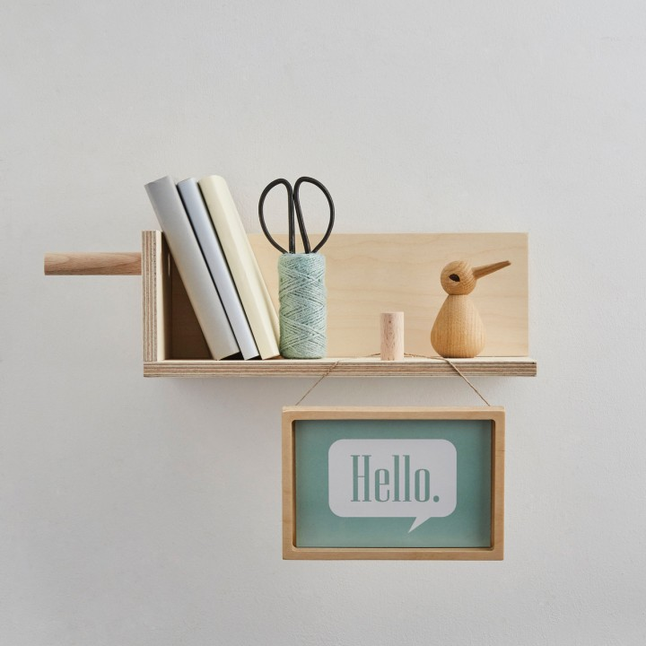 Little corner shelf by Kreisdesign