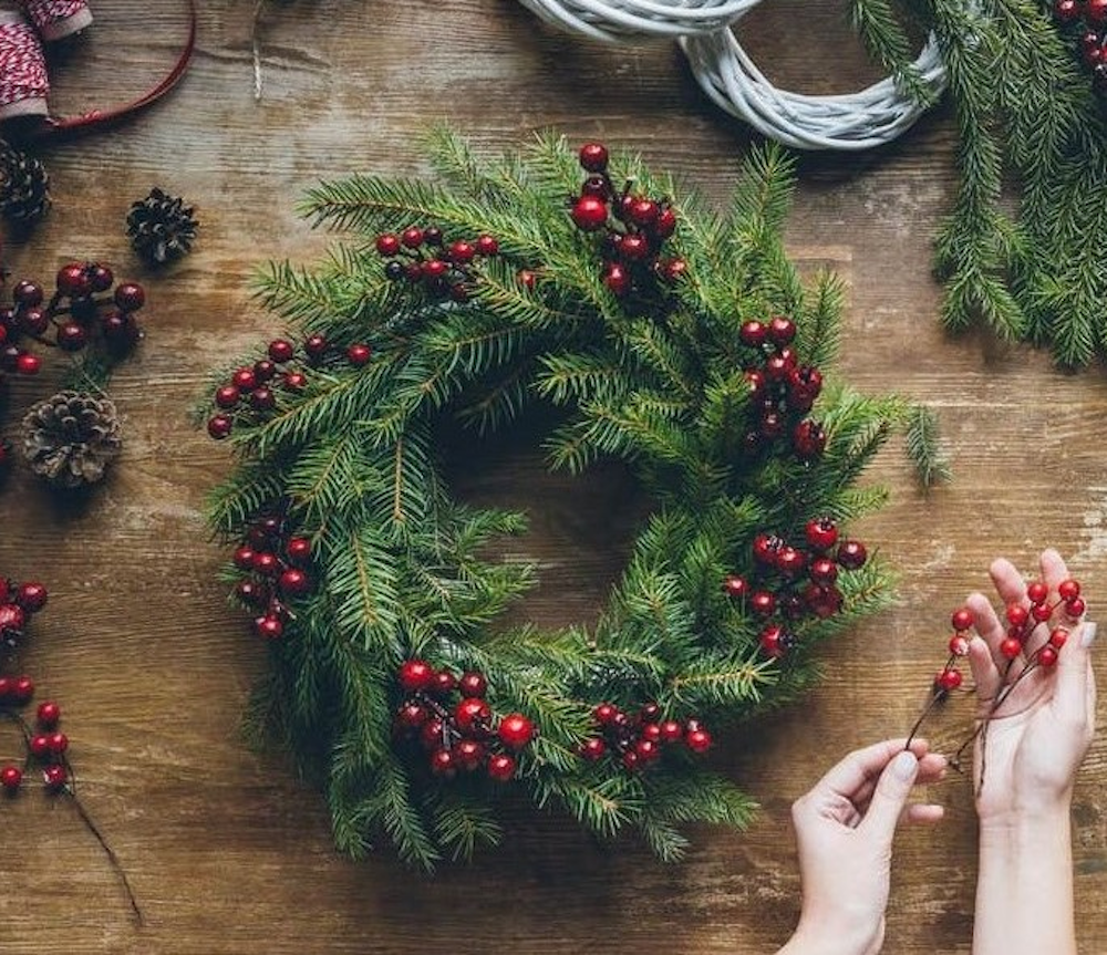 Perfect Moment Christmas Wreath