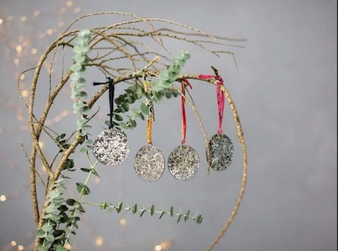 eco christmas decorations