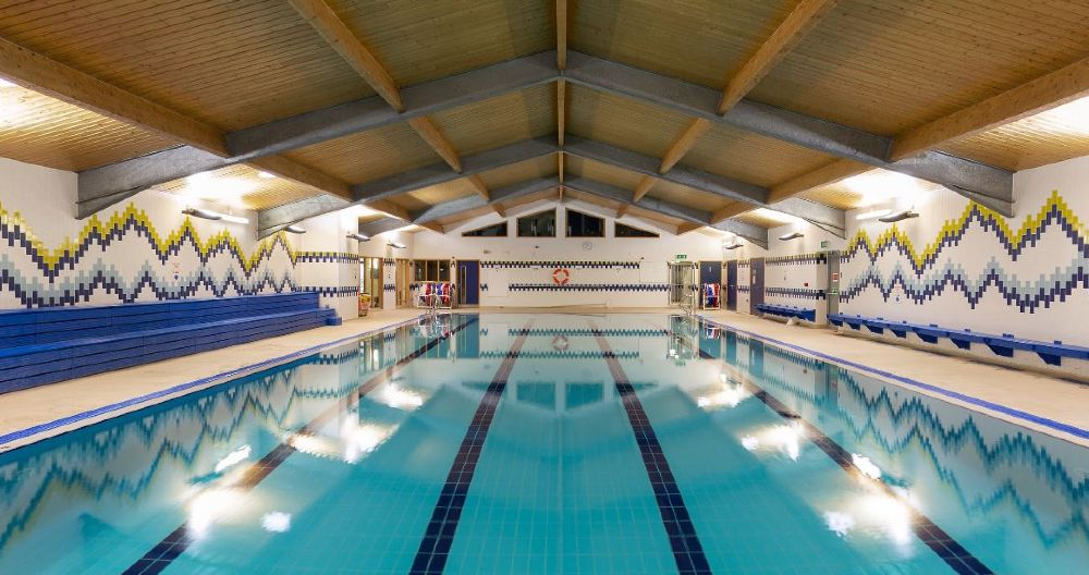 Swimming pool at St Albans High School For Girls