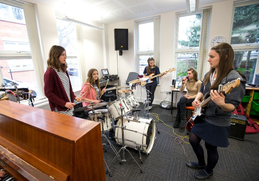 music at St Albans high school