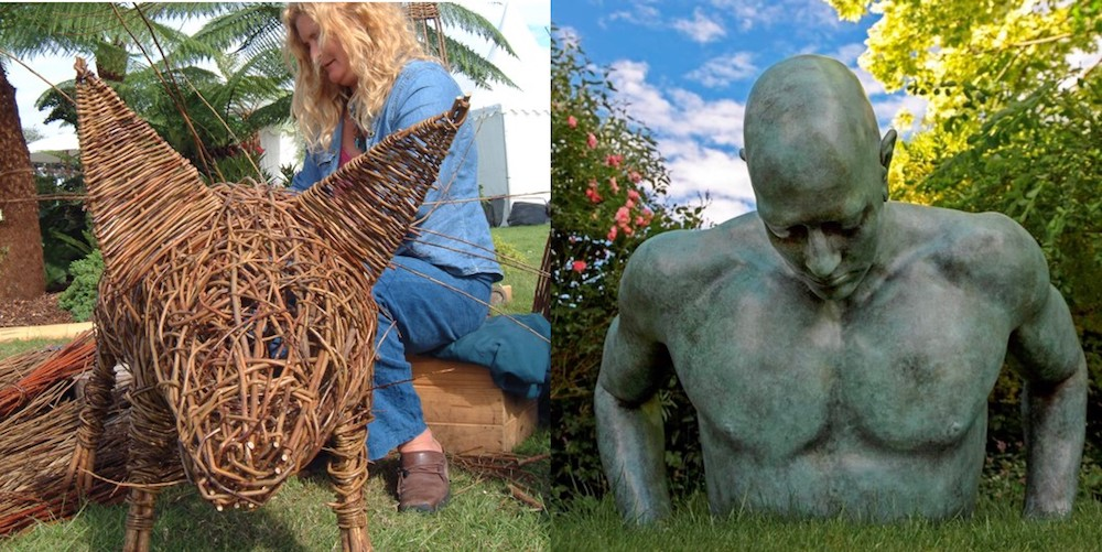 Living Crafts willow weaving and sculpture