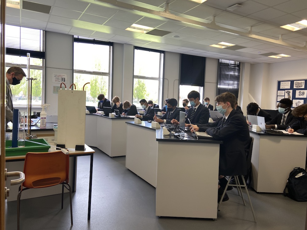 Bedford School Science lesson