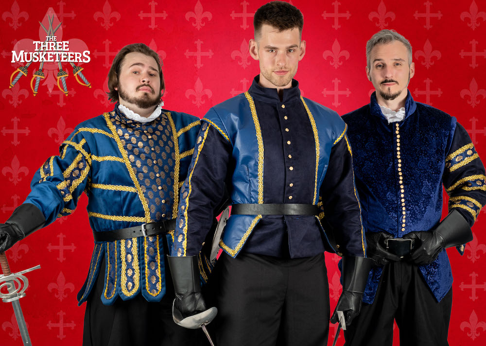Immersion theatre three musketeers