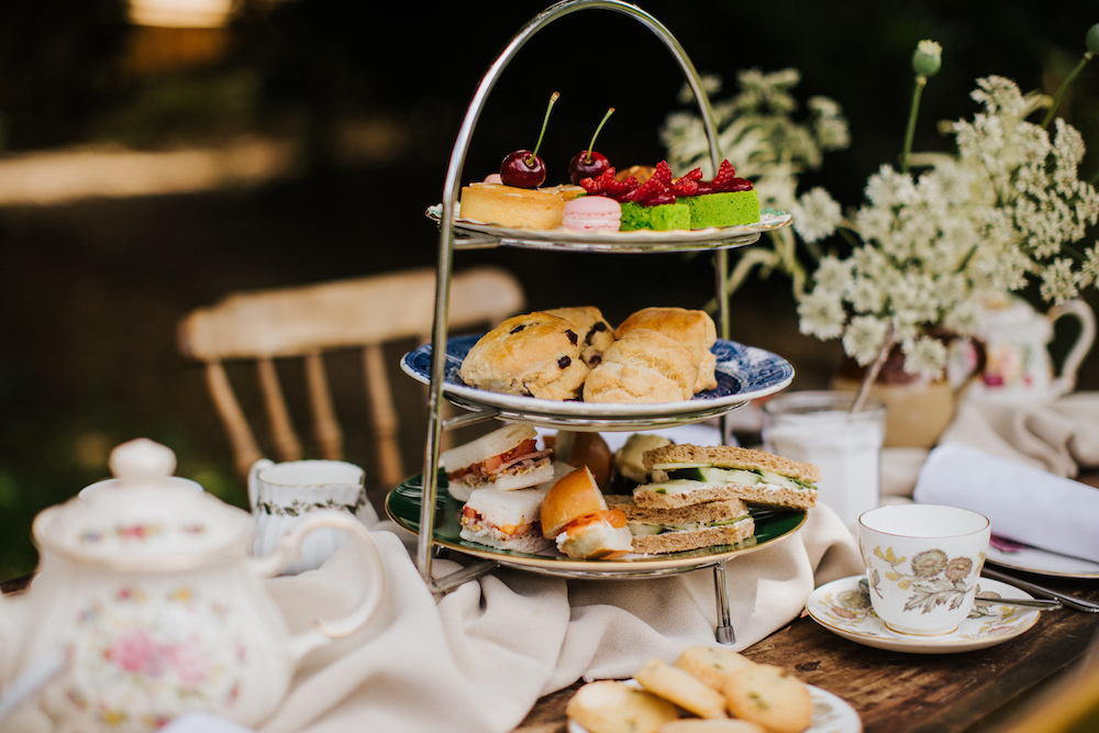 Afternoon tea the Farmhouse at Redcoats